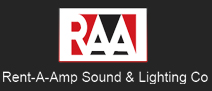 Rent-A-Amp Sound & Lighting Co.